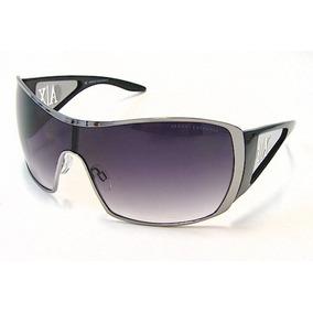594828df6f39d Óculos De Sol Armani Ax008 s Feminino Preto   Prata