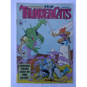 Thundercats Nº 10: Cemitério De Memórias - 1987 - Ed. Abril