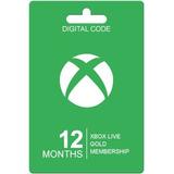 Membresias 12 Meses Xbox Live Gold Xbox 360 / One Codigo