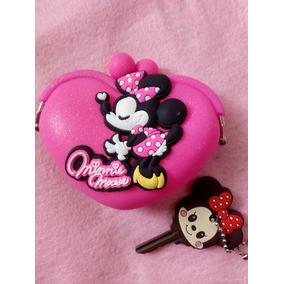 Monedero Minnie Mouse + Cubre Llave