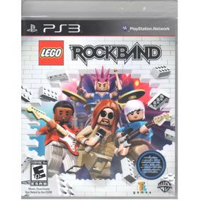 Lego Rockband Ps3 Original Mídia Física