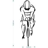Adesivo Bicicleta 2un. 10cmx15cm Ciclismo Bike Esporte Pedal