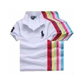 Kit 10 Camisas Polo Infantil Tamanhos Do 2 Ao 14 Belíssimas 9534b2e830448