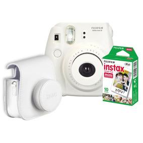 Paquete Fujifilm Instax Mini 8 Blanco + 10 Películas Y Funda