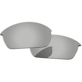 9835273d100cd Oculos Oakley Flak Jacket Cinza Com Lente Azul - Óculos De Sol ...