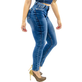b75e43cd1 Kit 5 Calças Jeans Feminina Cintura Alta Hot Pants Premium