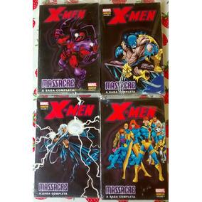 X-men Massacre - Coleção Completa Em 4 Volumes