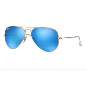 a973f88e9ed62 Oculos Rayban Aviador Espelhado - Óculos De Sol no Mercado Livre Brasil