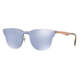 619d80a64a81a Oculos Sol Ray Ban Blaze Clubmaster Rb3576n 90391u 47mm