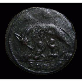 *wm* Urbs Roma - Lobas E Os Gêmeos - 337 Dc - Moeda Romana