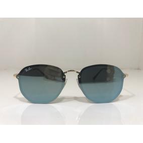 Oculos De Sol Ray Ban Hexagonal Azul Agua - Óculos no Mercado Livre ... a07ad88698