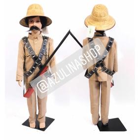 Disfraz Pancho Villa Sombrero Rifle Carrilleras Sombrero
