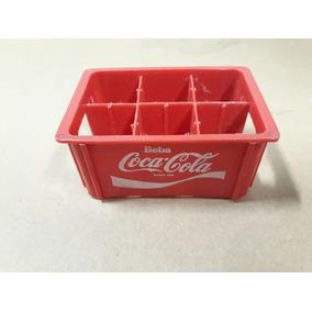Mini Engradado Da Coca Cola Antigo