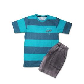 Conjunto Infantil Masculino Carinhoso - Calçados 6026b70cdb4