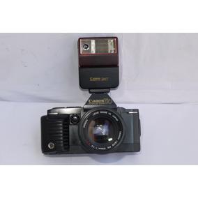 Câmara Analógica Filme Canon T 70 Lente Fd 50mm F 1.4 Lomo