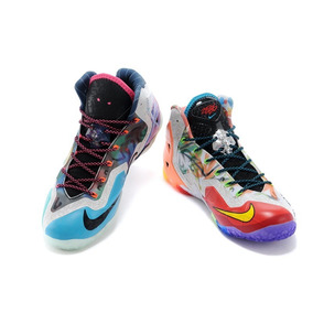 Nike Lebron James 11 Colorido 42 44 Original Rari