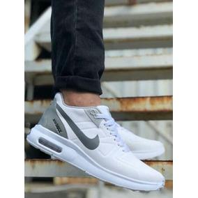 4cc380cd0bd Zapatos Deportivos Ultima Moda - Zapatos Nike Blanco en Mercado ...