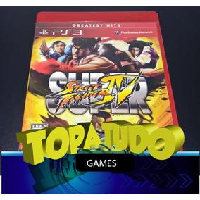 Super Street Fighter 4 Jogo Playstation 3 Ps3 Seminovo Loja