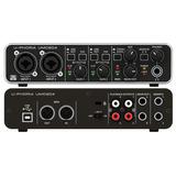 Placa Sonido Behringer Umc204hd Interface Umc204 Hd Midas