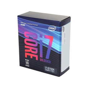 Procesador Intel Core I7 8700k Socket 1151 3.7 Ghz 95 W