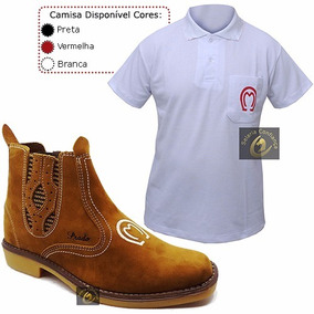 Botina Mangalarga Country + Camisa Mangalarga - Oferta!!!
