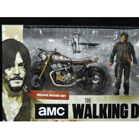 Daryl Dixon Com Moto - Action Figure The Walking Dead