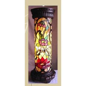 Abajur Coluna Tiffany Importado ( Cod 08541 )