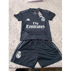 d1405d456d34c Uniforme Del Real Madrid Negro Para Niño en Mercado Libre México