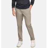 Under Armour Pantalones Stretch Golf Beige 34/30, Nuevos