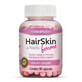 Hair Skin & Nails Femme Maxinutri - 90 Cápsulas Da Beleza