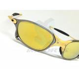 Oakley Oculos Double Xx 24k Gold Iridium Original Numerado e88f6f7281