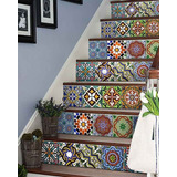 Escaleras Forradas Con Azulejo Pintado A Mano