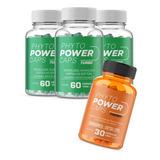 Phytopower Caps Turbo 3 Potes + 1 Pote Phyto Power Termo