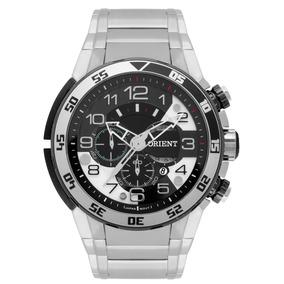 Relógio Orient Masculino Aço Cronógrafo Mbssc184