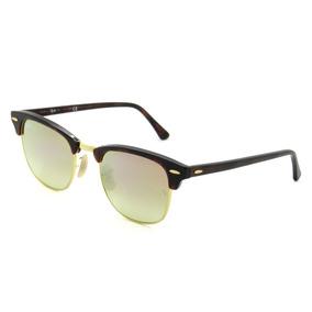 0811a3ab0d5cf Oculos Rayban Feminino - Óculos De Sol Ray-Ban Clubmaster Sem lente ...