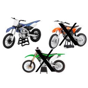 Yamaha Suzuki Kawasaki Motocross Replica Moto Escala 1:12