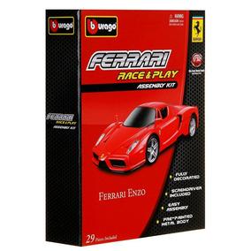 Kit Para Montar Carrinho Carro Ferrari Enzo 1/32 - Burago