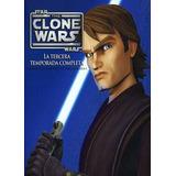 Dvd - Star Wars The Clone Wars - Temporada 3 - 5 Discos