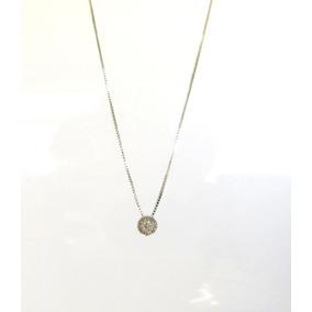 Colar Com Pingente Diamante - Joias e Relógios no Mercado Livre Brasil 977dfb5ca4