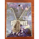 Collar Fortnite Epic Games Juegos Colgante Souvenir