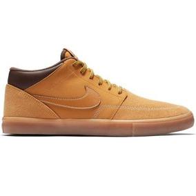 Tenis Nike Sb Portmore Ll - Cafe - Caballeros - Aj6978-779