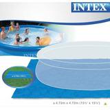 Tapete Protector 472x472cm, Easy Set/metal Frame Intex