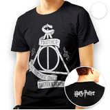 Camisa Camiseta Harry Potter Relíquias Da Morte Blusa