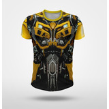 Remera Bumblebee Transformers Tipo Traje Robot Full Print
