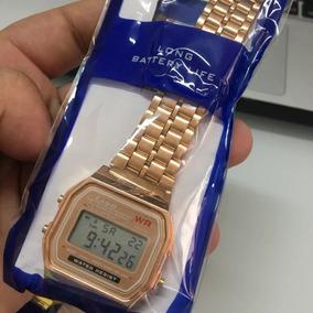 043f5f90c18 Pulseira Para Relogio Casio Rose - Relógios no Mercado Livre Brasil