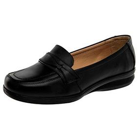 Zapatos Maxi Confort 9015 Negro Piel Dama Oi