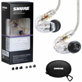 Fone De Ouvido Shure Se215 Clear In Ear