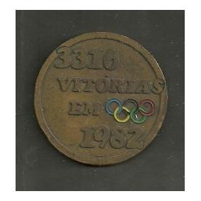 [ha]# Medalha- Pirelli- 3316 Vitórias Em Olimpíadas 1982 #