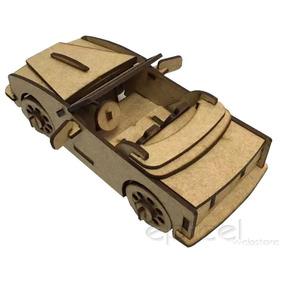 Kit 8 Carrinhos Crianca Carro Corrida Tipo Hotwels Em Mdf