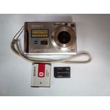 Cámara Digital Sony Cybershot Mod. Dsc-w200